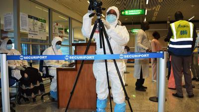 AIBD : 17 personnes arrêtées avec de faux tests au mois de juillet