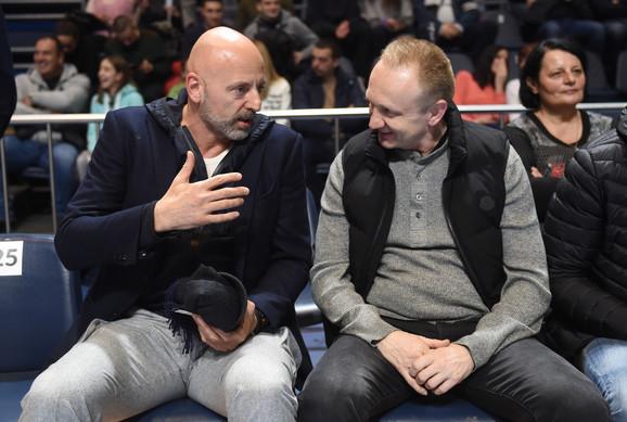 Saša Obradović i Dragan Đilas