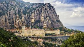 Masyw Montserratu w Katalonii zamknięty dla turystów i samochodów