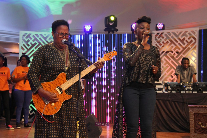 Mercy Masika performing in 'tight' jeans (Courtesy)