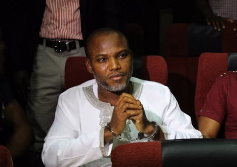 Nnamdi Kanu will be remanded in prison if he does return, the Judge has promised (Sahara Reporters)