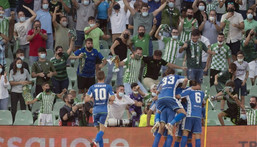 Real Betis came from 2-0 down to beat Celtic 4-3 Creator: JORGE GUERRERO