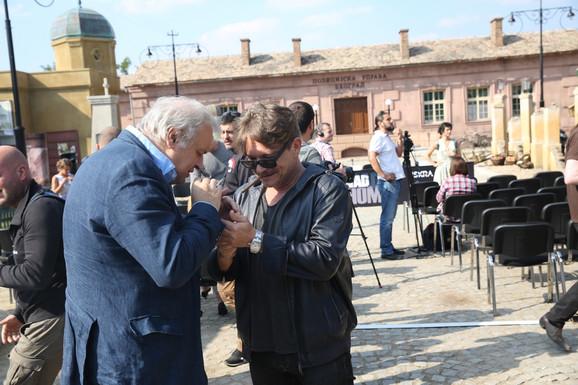 Serija će biti emitovana na RTS: Dragan Bujošević i Dragan Bjelogrlić