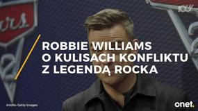 Robbie Williams ujawnia kulisy konfliktu z legendarnym rockowym muzykiem