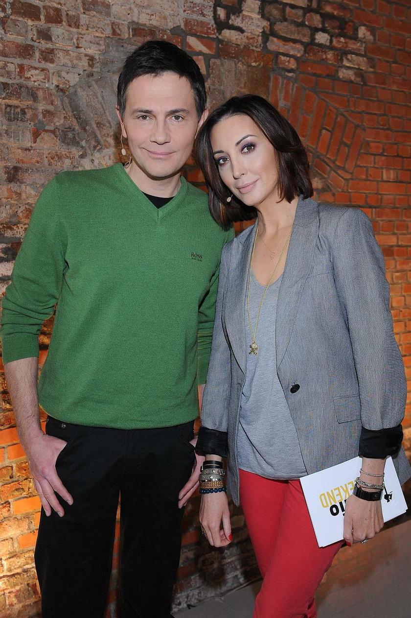 Krzysztof Ibisz i Anna Zejdler