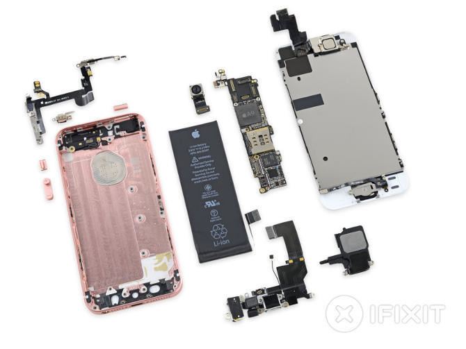 "iPhone SE po ""terapii"" u iFixit"
