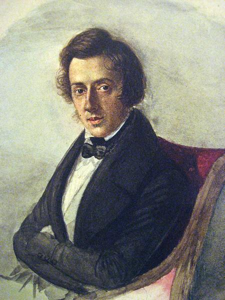 Fryderyk Chopin na obrazie Marii Wodzinskiej