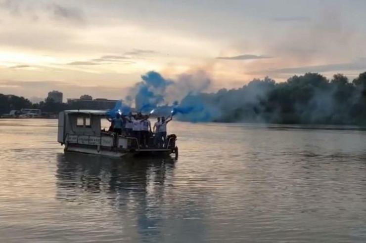Zenit navijači Dunav