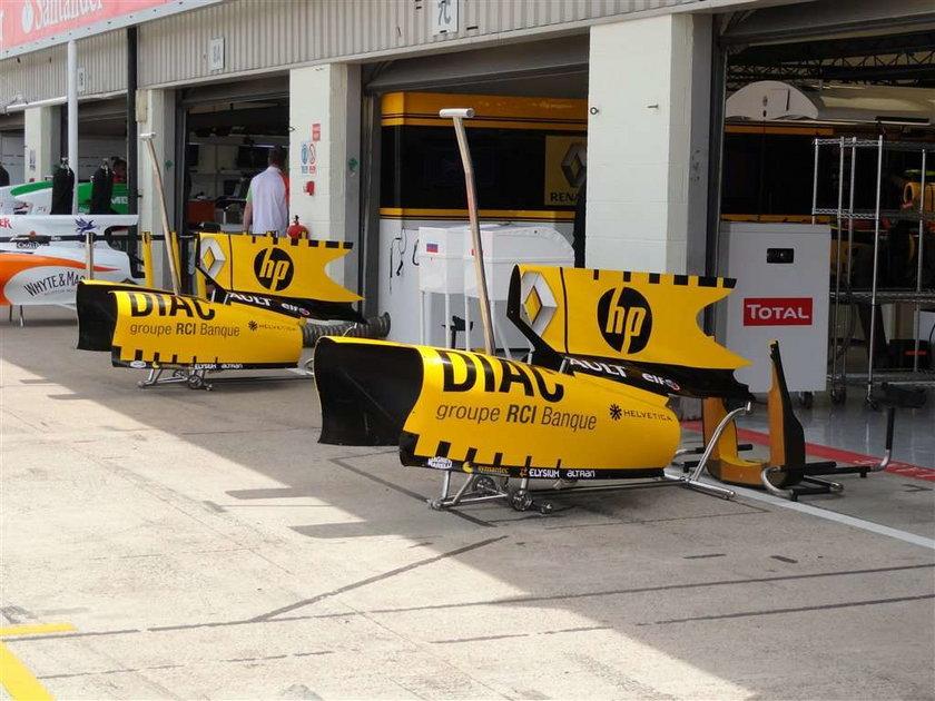 Fakt obserwował ostatnie przygotowania Renault do niedzielnego wyścigu