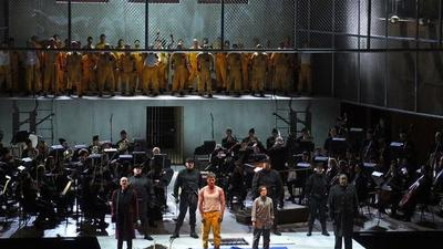 A dark, modern version of Beethoven's only Opera
