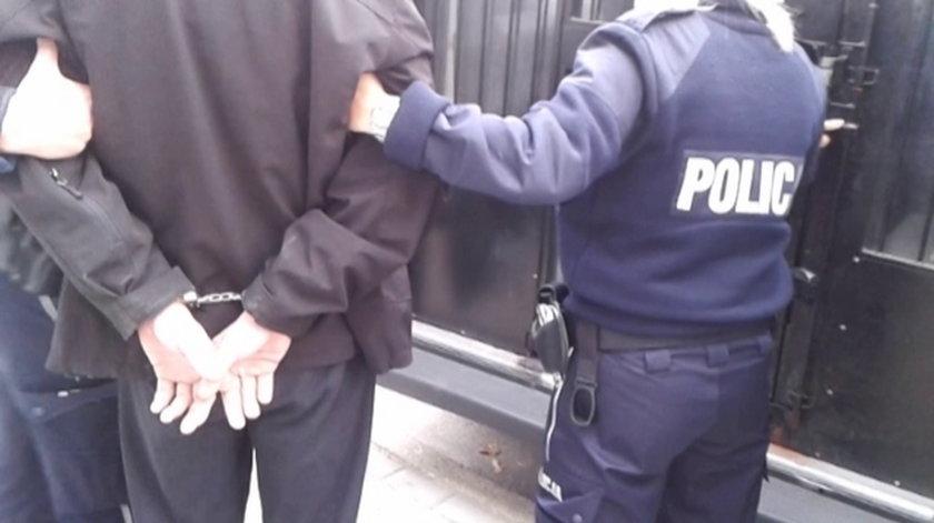 policja zatrzymała złodzieja ręki Ronalda Reagana w Gdańsku