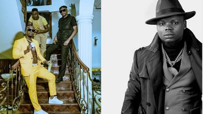 Harmonize signs three new artistes, gifts them brand new cars (Video)