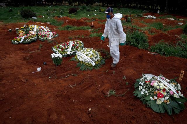 Velika smrtnost od kovida u Brazilu