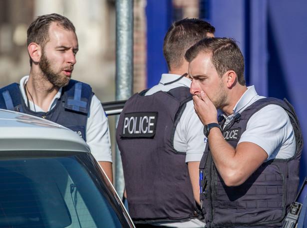 Atak na policjantów w Charleroi, EPA/STEPHANIE LECOCQ Dostawca: PAP/EPA.