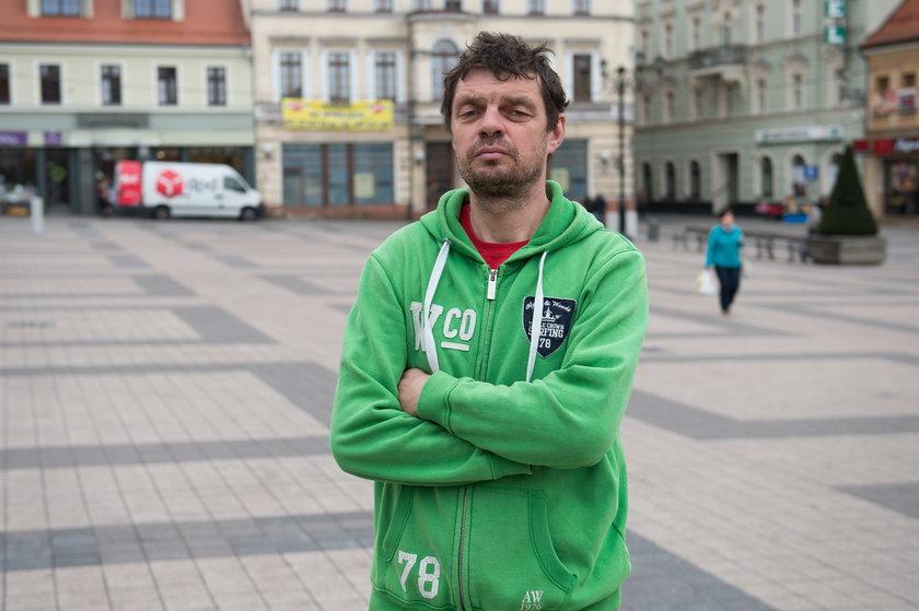 Robert Tur (43 l.), górnik pracujący w Czechach
