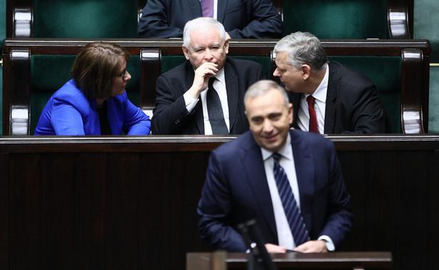 16 grudnia 2016 r. posłowie opozycji zablokowali mównicę w sali plenarnej Sejmu.