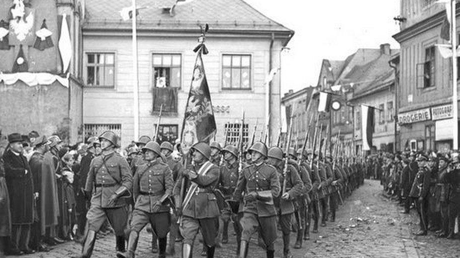 Konflikt o Zaolzie między Polska a Czechosłowacją ciągnął się przez cały okres międzywojennym