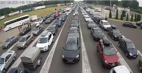 Ulaz u Srbiju iz Mađarske, Horgoš