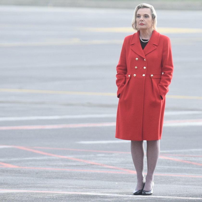 Skandal na Sycylii! Prezydent przemawiał, a ambasador Anders trzymała ręce w kieszeniach