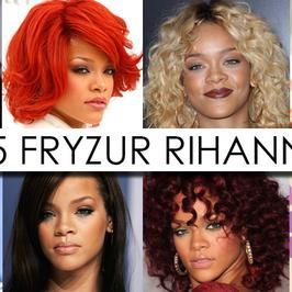 35  fryzur Rihanny