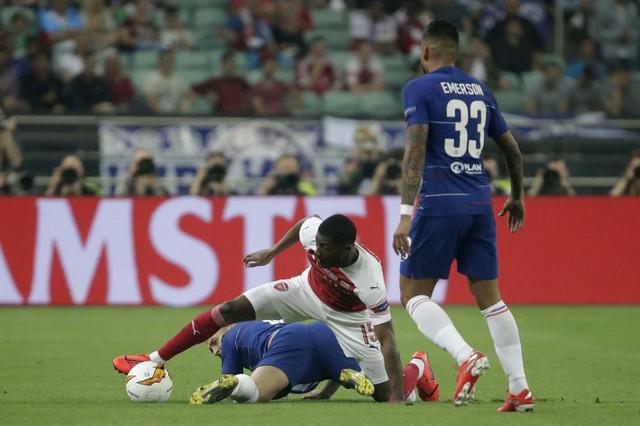 Rovovska borba fudbalera u finalu Lige Evrope
