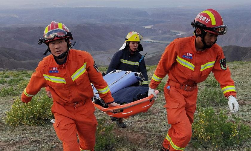 Dwadzieścia osób zmarło podczas biegu górskiego na północnym zachodzie Chin.