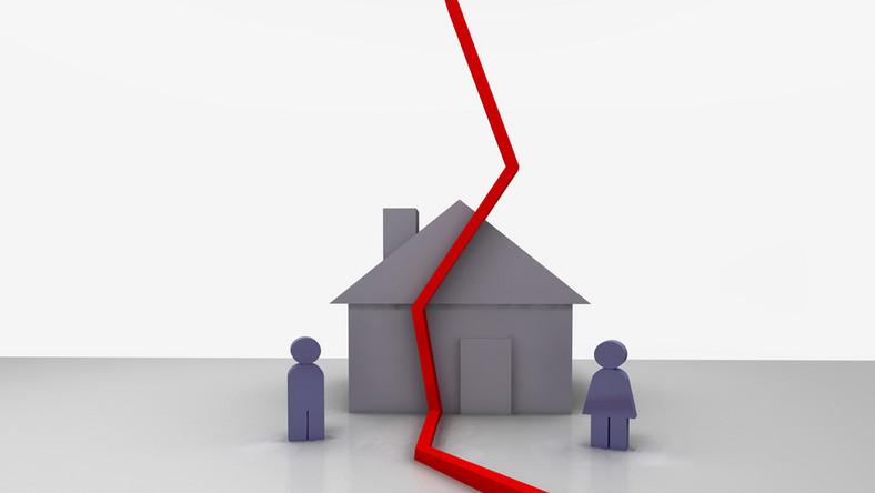 Rozstanie małżonków zwykle wiąże się z ustanowieniem rozdzielności majątkowej.