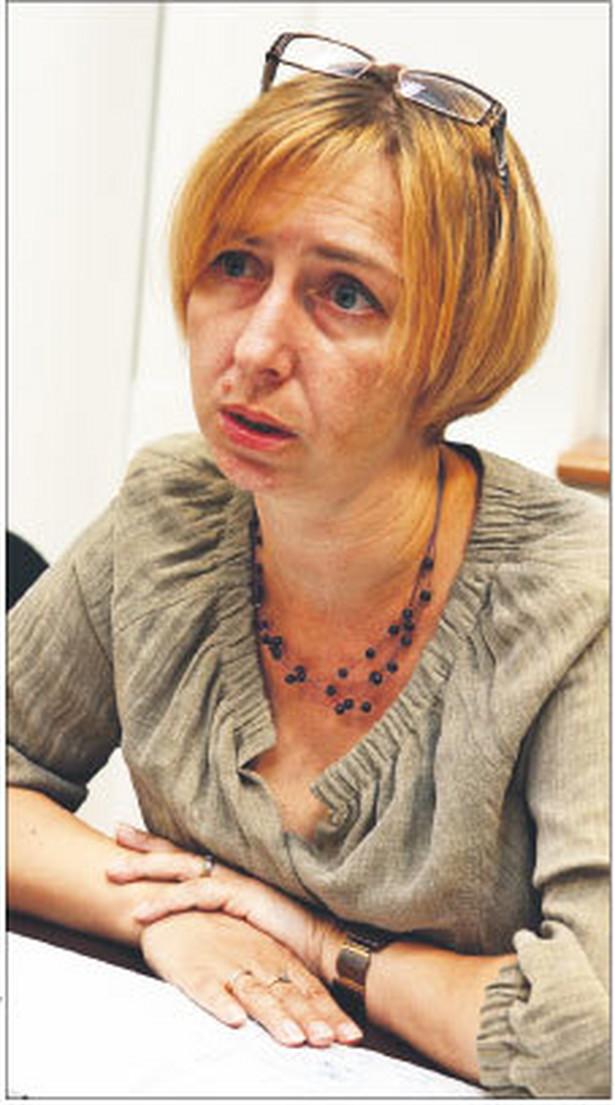 Agata Wiśniewska, dyrektor departamentu realizacji dochodów centrali ZUS, pracuje w ZUS od 1990 roku Fot. Wojciech Górski