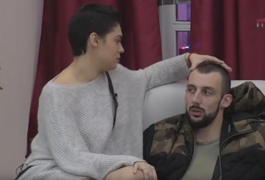 Mina Vrbaški i Nemanja Đerić Đekson
