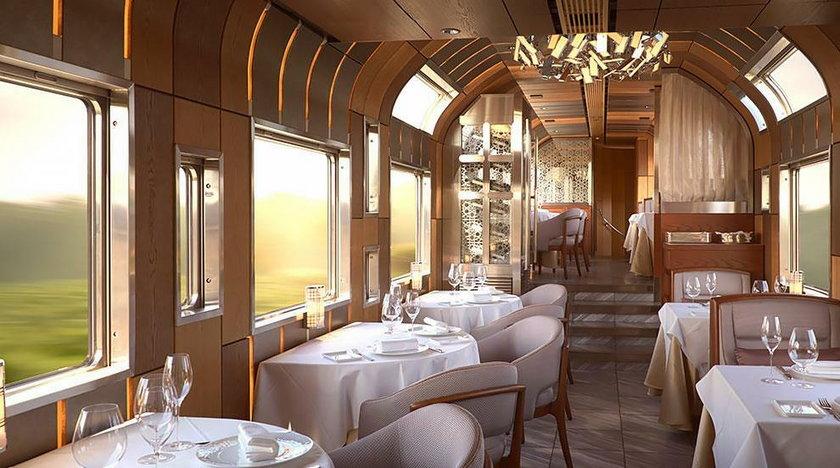 Japonia: luksusowy pociąg wyrusza w trasę. Niezwykłe zdjęcia
