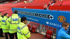 Alarm bombowy na stadionie Manchesteru United [GALERIA]