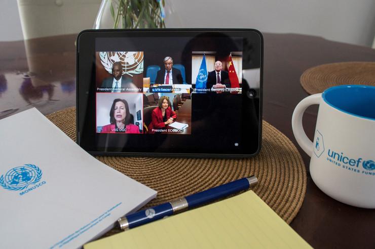 UN video sastanak
