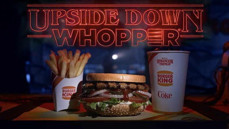Burger King Is Serving a 'Stranger Things' Whopper