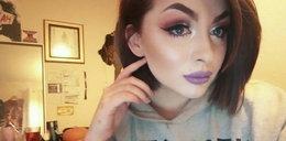 Pod mocnym makijażem ukrywa nieuleczalną chorobę