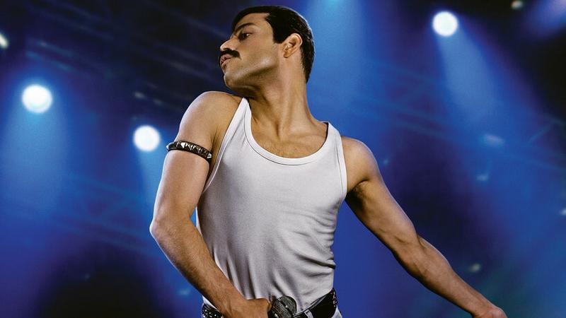"""Rami Malek w filmie """"Bohemian Rhapsody"""""""