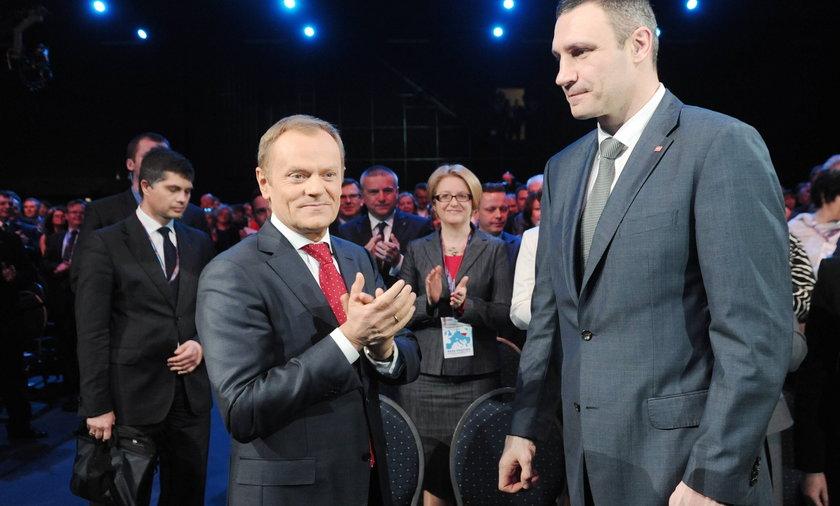 Donald Tusk, Witalij Kliczko