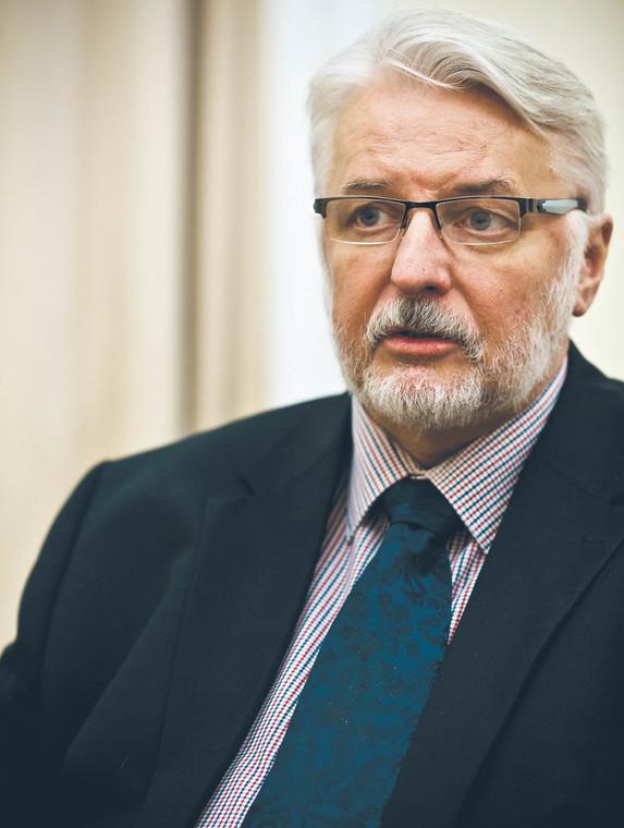 Witold Waszczykowski, deputowany do Parlamentu Europejskiego z ramienia PiS, minister spraw zagranicznych w latach 2015-2018  fot. Wojtek Górski