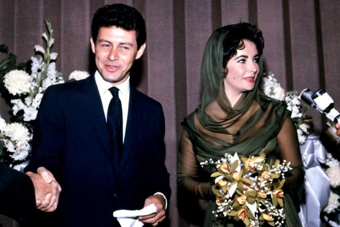 Venčanje koje se i danas pamti: Elizabet Tejlor i Edi Fišer