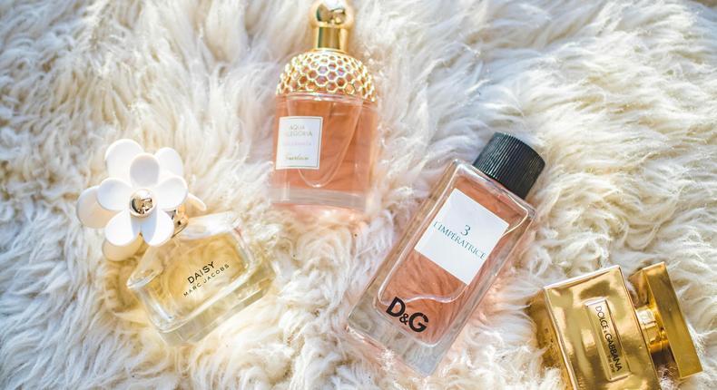 Fragrances help you have a pleasant scent