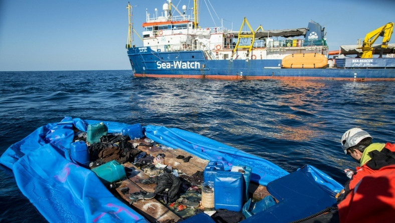 Rome's populist government has taken an increasingly hard line on migration and has banned charity vessels from rescuing migrants off Libya
