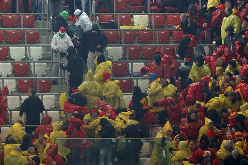 Skandal na meczu ekstraklasy Legia - Jagiellonia