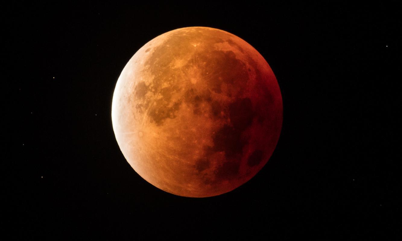 Całkowite zaćmienie Księżyca z 2015 roku
