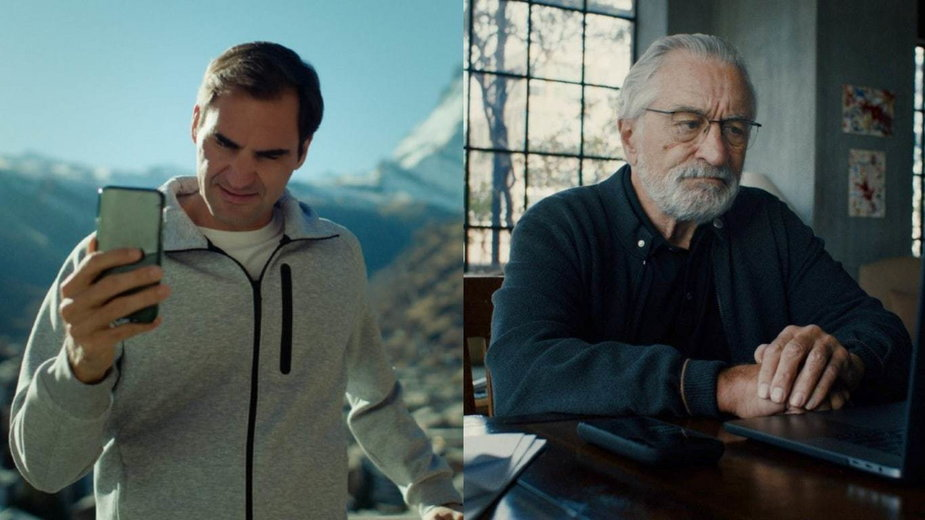 Roger Federer i Robert De Niro