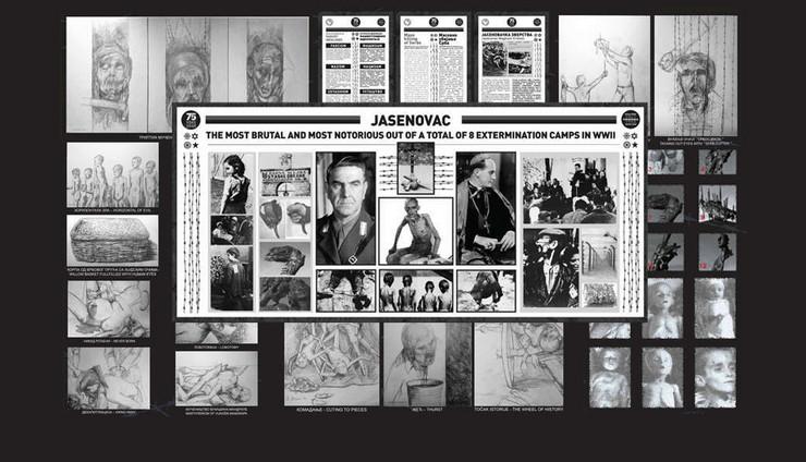 jasenovac izložba un njujork kombo pokrivalica foto RAS Srbija Promo Ministarstvo spoljnih poslova Srbije