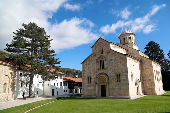 Manastir Dečani na Kosovu