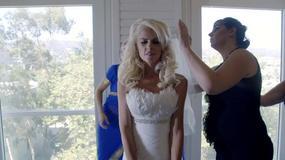 """Żony Hollywood"""": dlaczego mama Iwony płacze przed jej ślubem?"""