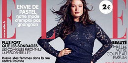 """Modelka XXL na okładce """"Elle"""". Ideał?"""