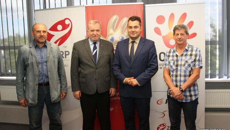 Prezydent Łomży w sprawie  hali spotkał się z przedstawicielami Związku Piłki Ręcznej
