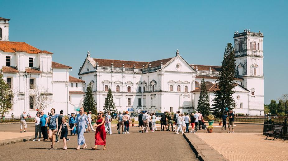 Katedra Se w Old Goa