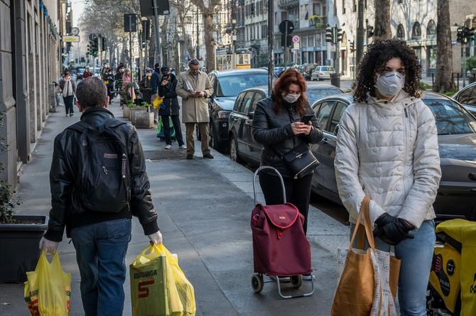Italija je najteže pogođena epidomijom korona virusa u Evropi